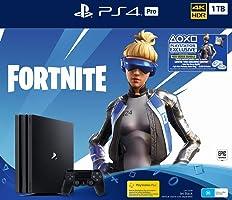 PlayStation 4 Pro 1TB Console Fortnite Neo Versa Bundle + 2000 V-Bucks