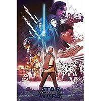 Star Wars Episode 8 Poster Blue Saber (61cm x 91,5cm)