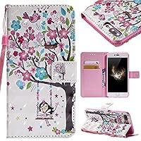 Lomogo iPhone7 Plus ケース / iPhone8 Plus ケース 手帳型 耐衝撃 PU レザーケース 財布型 カードポケット スタンド機能 マグネット式 アイフォン7 Plus / 8 Plus 手帳型ケース カバー 人気 - KATU25709 #2