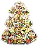 ドイツ製 アドベントカレンダー クリスマスケーキB(11665) 49cm×39cm