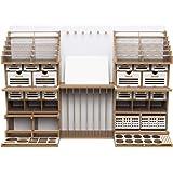 【プラモデル専用】 組立式作業棚 Arttystation Symphony (シンフォニー) 充実の収納力 プラモデル 棚 模型 工具 収納 整理 部屋 収納 作業台 デスク プラモデル 塗料 飾り棚 プラモデル道具収納 ガンプラ棚 ワーク ステー