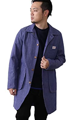 Smith's American Bedford Cord Shop Coat 7560-636-5064: Cobalt
