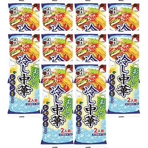 五木食品 おいしい冷し中華レモン風味 222g ×10個