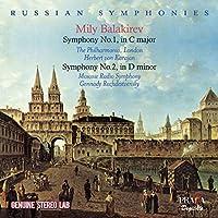 Mily Balakirev: Symphony No. 1, in C major / Symphony No. 2 in D minor