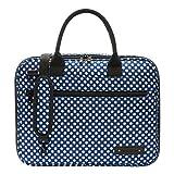 ボーモント ケースカバー(キャリーバッグ) クラリネット・オーボエ用 カラー&デザイン:ブルー・ポルカ・ドット