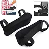 Chair Armrest Pads Foam Comfortable Elbow Pillows for Office Chair Arm Support Forearm Pressure Relief Universal Chair Arm Co