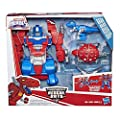 "Playskool Heroes - 10"" Transformers Rescue Bots Optimus Prime Figurine - Ages 3+"