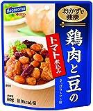 はごろも おかずで健康 鶏肉と豆のトマト煮込み 80g(2024)×4個