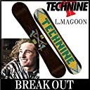 15-16 TECHNINE / テックナイン LM PRO MAGOON オールマウンテン メンズ スノーボード 板 150