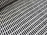 北欧風(アルテック風)カラフル格子 ブラック キルト    |キルティング|生地|布地|綿|コットン|