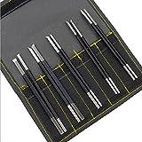 10本セット 高品質炭素鋼 篆刻刀 収納袋付き 硬さHRC70 石彫 専用