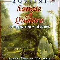 ロッシーニ:6つの四重奏のソナタ(管楽四重奏版)
