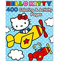 Hello Kitty Coloring Book Jumbo 400 Pages -- Featuring Classic Hello Kitty Characters! [並行輸入品]