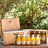 ジュース ギフト セット みかんジュース オレンジジュース 100% 無添加 ストレート 180ml ギフト セット 農園直送 和歌山 有田 100パーセント 詰め合わせ 人気 甘い 贈答用 手土産 まとめ買い びん 瓶 おすすめ 5本
