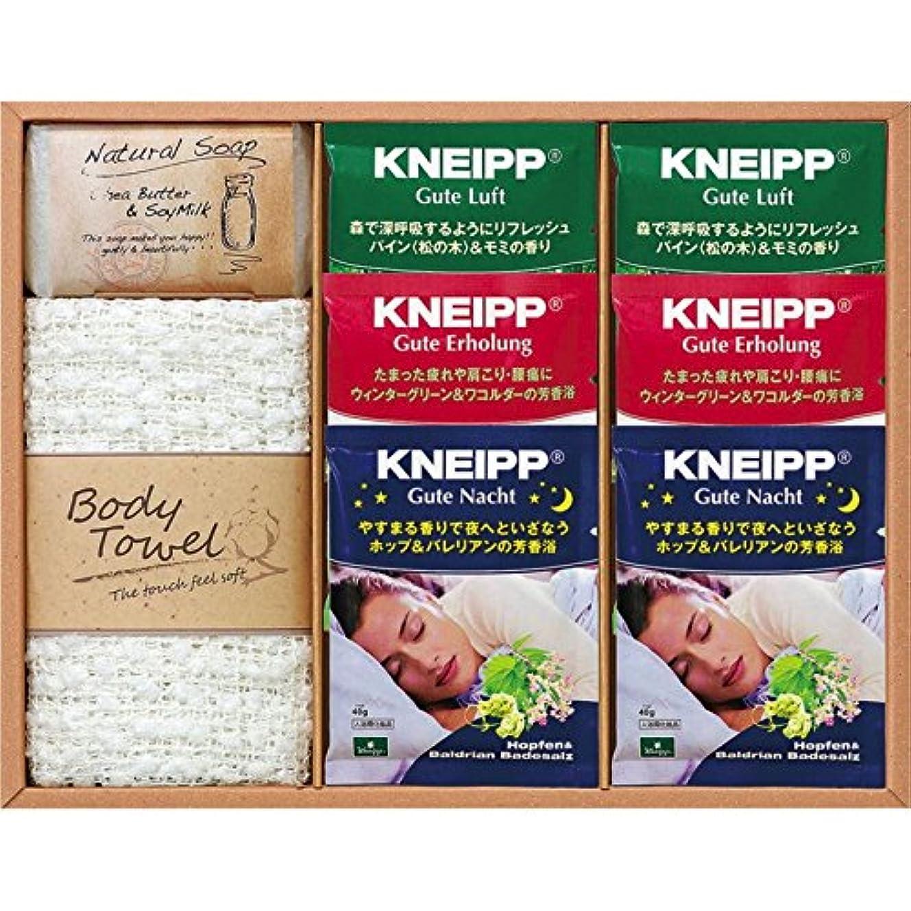 薬局債務豊富な【ギフトセット】 クナイプギフトセット KNIP-20