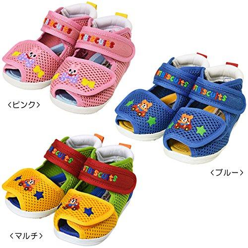 ミキハウス ホットビスケッツ (MIKIHOUSE HOT BISCUITS) ベビーサンダル 72-9304-973 12.5cm ピンク