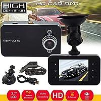 Liebeye 車のDVR 1080PフルHD車の安全なビデオレコーダー ナイトビジョン 2.7インチ