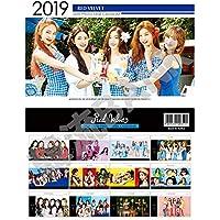 RED VELVET (レッドベルベット) 2019年 ~ 2020年 (平成31年 ~ 平成32年) 2年間 フォト 卓上カレンダー グッズ (2019~2020 Photo Desk Calendar)