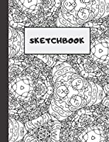 Sketchbook: Composite Notebook for Your Ideas, Drawing, Writing, Painting and Sketching , 110 Pages, (Large 8.5x11) (Classic Edition)