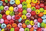 108ピース ジグソーパズル キャンディコレクション チョコレートキャンディー マイクロピース(10x14.7cm)