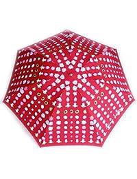 Vivienne Westwood(ヴィヴィアンウエストウッド)傘 雨傘 折畳み傘 レッド 手描き風 オーブ ドット