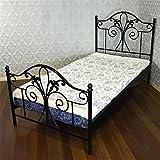 アイアンベッド 家具 一人暮らし ブリテン シングルベッド