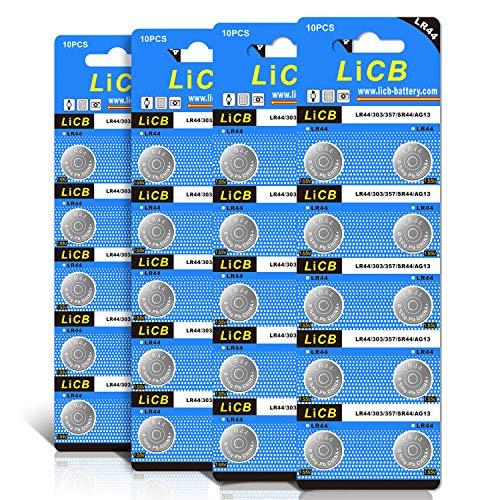 40個 LR44 ボタン電池 アルカリ 電池
