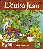 Cherries Jubilee 550pc。ジグソーパズル–The Art of Louisaジャン・