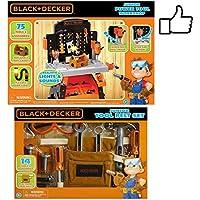 PowerツールWorkshop andおもちゃツールベルトセットバンドル