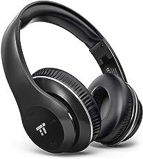 TaoTronics ヘッドホン Bluetooth 15時間再生 1.5時間充電 折りたたみ式 高音質 EQベース 軽量 密閉型 40mmドライバ 内蔵マイク 有線無線兼用 ハンズフリー 2台同時接続 TT-BH028