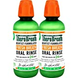 TheraBreath Fresh Breath Dentist Formulated Oral Rinse - Mild Mint Flavor 16 Ounce (Pack of 2)