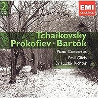 Tchaikovsky: Piano Concertos Nos. 1, 2 & 3 / Prokofiev: Piano Concerto No. 5 / Bartok: Piano Concerto No. 2 (2006-05-02)