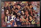"""Buyartforless Framed """" 80s RapヒップホップTupac TLC NWAジャネットジャクソンIce Cube Dr。Dre """"ポスター、36?"""" x 24?"""""""