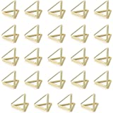 AIEVE Place Card Holders, 24 Pack Triangle Shape Table Card Holders Wedding Table Number Holders Photo Holder Pictures Stand