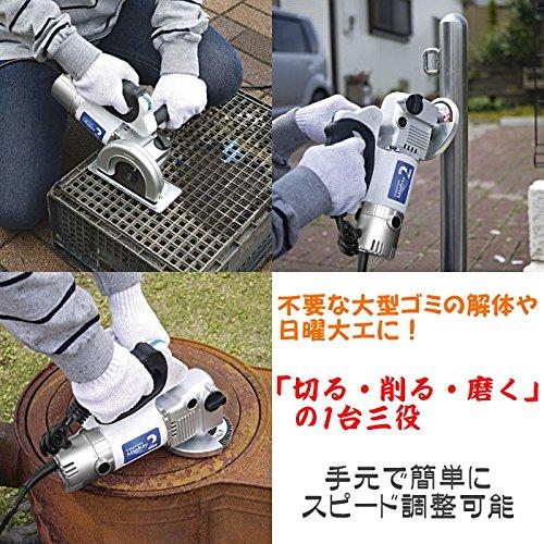 電動工具 DIY 切る・削る・磨くの1台3役をこなす家庭用、電動工具 話題の マルチ電動工具 マイティー2