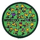 ミノダ スヌーピーヴィンテージ風ワッペン アイロン シール両用 Woodstock S02Y8972