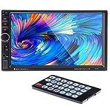 PolarLander 7インチスクリーン2ディンカーオーディオMP5 MP4プレーヤーBluetoothラジオUSB / TF / FM / AUXリアビューカメラDVR入力サポートステアリングホイールコントロールタッチスクリーン