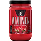 BSN Amino X Muscle Recovery & Endurance Powder with BCAAs, 10 Grams of Amino Acids, Keto Friendly, Caffeine Free, Flavor: Wat