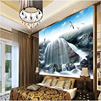 Sproud 大規模なカスタムの壁紙の滝の風景水の風景 Tv の壁の装飾絵画のウォールペーパーの家の装飾 200 Cmx 140 Cm 夢