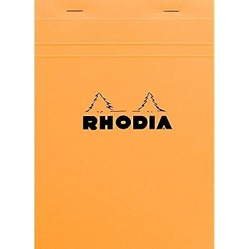 ロディア No.16 方眼罫 オレンジ cf16200