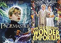 Magical Pagemaster + Mr. Magorium's Wonder Emporium Magical DVD Set Classic Family Fantasy Movie Bundle Double Feature [並行輸入品]