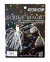 エンジン(ENGINE) ルアー ストライクマジック1/4DC #01パーフェクトホワイト