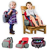 3 in 1 - Cozy Travel Booster Seat/Backpack/Diaper Bag for Your Toddler/Baby. Perfect for Home or Travel. Great