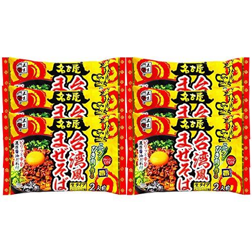 五木食品 台湾風まぜそば 322g×6個