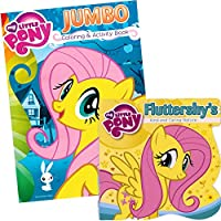 My Little Pony ®カラーリングand Board Book Set ~ Featuring Fluttershy 。