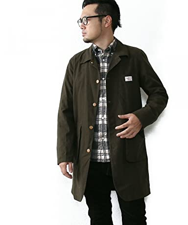 Smith's American Brushed Cotton Shop Coat 7560-636-5065: Olive