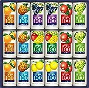 キリン 果汁100% ジュースギフト ハイパー100 190g缶 ×18本