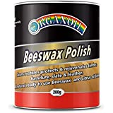 Organoil Beeswax Polish Highly Refined Soft Paste Non-Yellowing Formulation 200gm