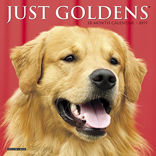 『Just Goldens 2019 Calendar』のトップ画像