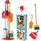 Melissa & Doug 8600 Let's Play House Dust! Sweep! Mop! 6-Piece Pretend Play Set